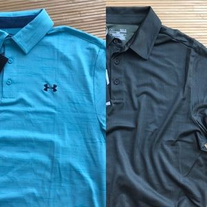 Under Armour Golf Polo Bundle